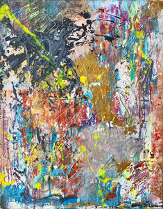 Life Is Good! Diptych - Original Abstract Art-GINNY ST. LAWRENCE