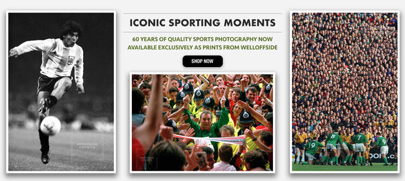 Iconic Sporting Moments - 60 Years of Qualty Sports Photography Now Available Exclusively As Prints From Welloffside