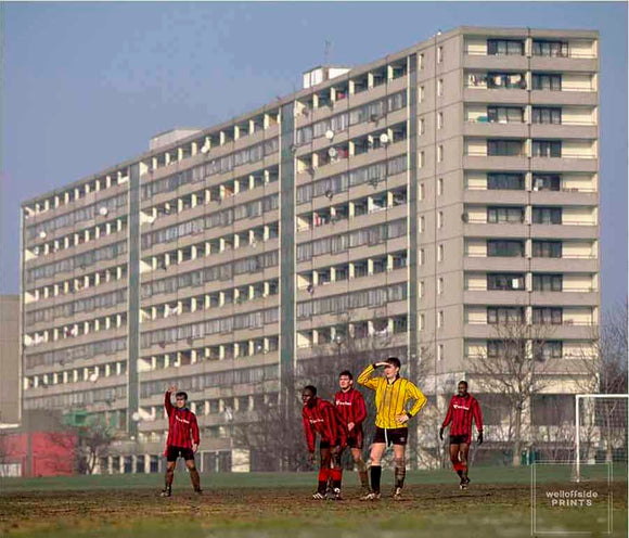 Sunday Morning Football - Burgess Park - 1997