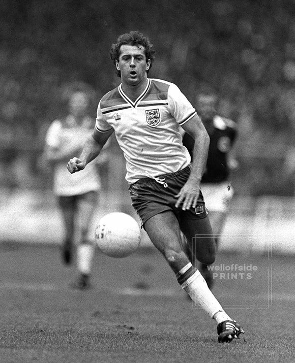 23rd May 1981 - Home International Football Tournament - England v Scotland  Trevor Francis.  Photo by Mark Leech / Offside (all rights reserved)  Open edition