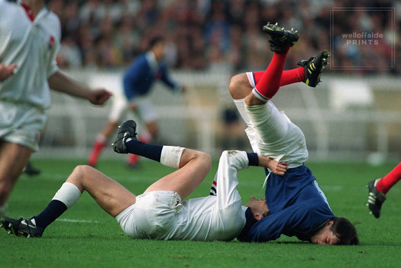 Sella and Webb - France v England - RWC 1991