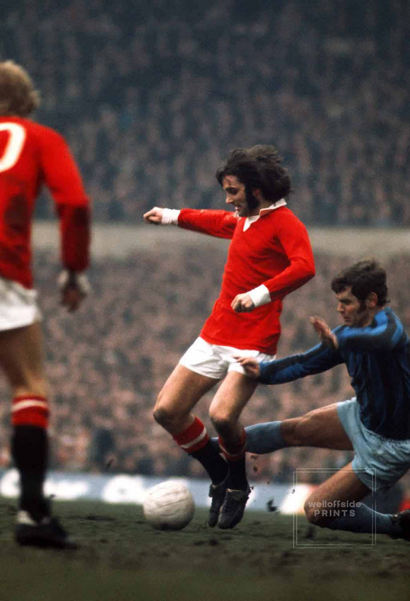 George Best - Manchester United - 1972