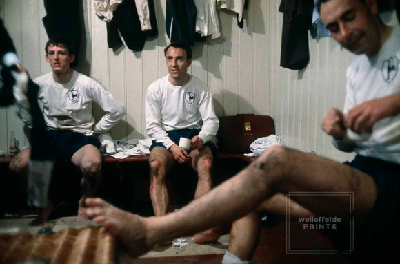 Jimmy Greaves - Anfield Dressing Room - 1966