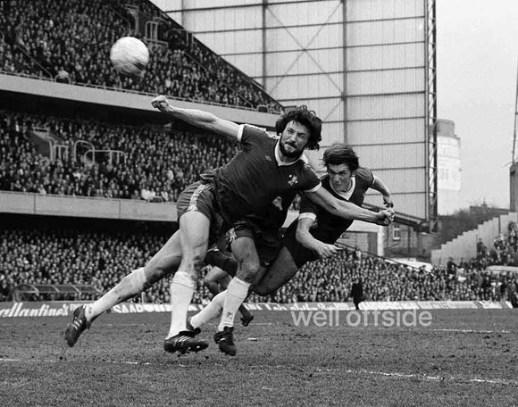 Kenny Dalglish header - Chelsea v Liverpool - 1978