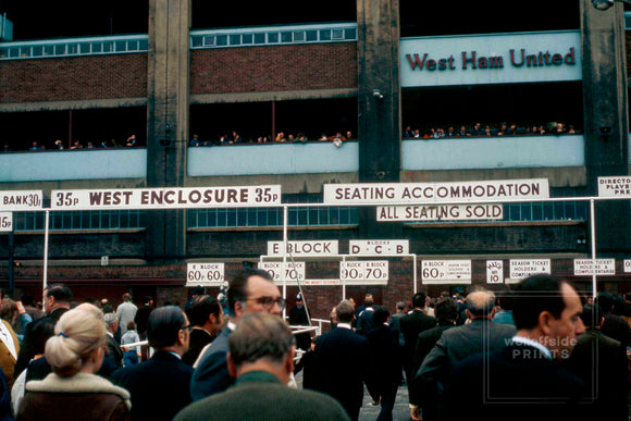 West Ham United v Stoke City - 1971