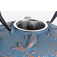 Load image into Gallery viewer, Blue Koi Cast Iron Set