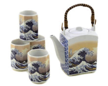 Load image into Gallery viewer, Japanese Tea Sets - Square Tea Pot
