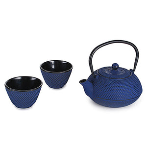 Blue Cast Iron Set