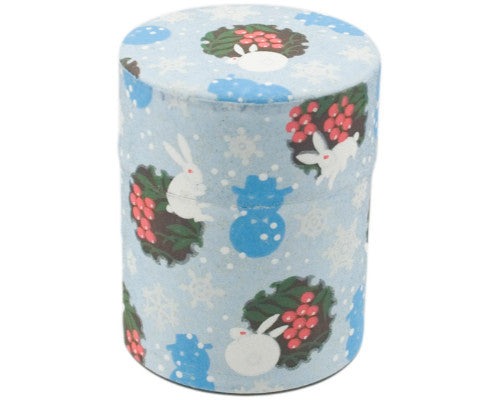 Washi Japanese Tea Tin 2.5""