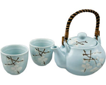 Load image into Gallery viewer, Ceramic Tea Set for 2