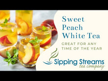 Load and play video in Gallery viewer, Sweet Peach White Tea