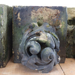 Load image into Gallery viewer, 19th century hand carved sandstone corbels