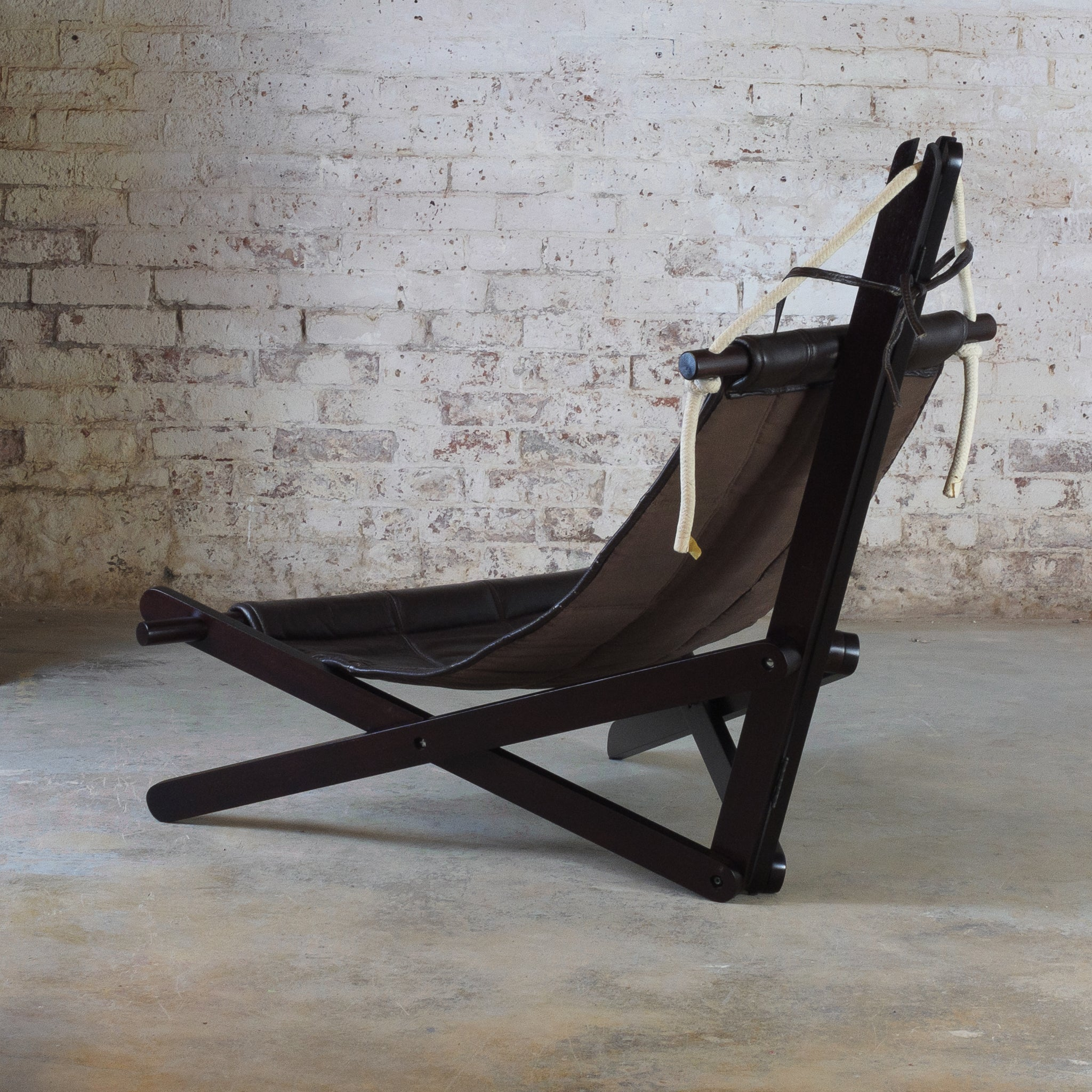 "Iconic ""sail chair"" by Dominic Michaelis for Moveis corazza - brazil"