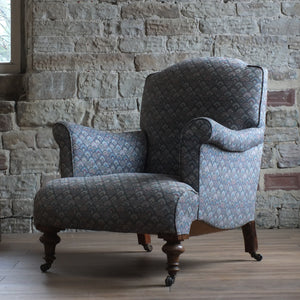 Late Victorian English country house arm chair