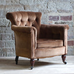 Load image into Gallery viewer, Antique Howard and son's Woodstock style arm chair