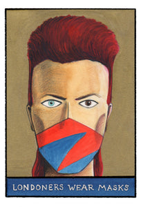 Mask Print #6 (David Bowie)