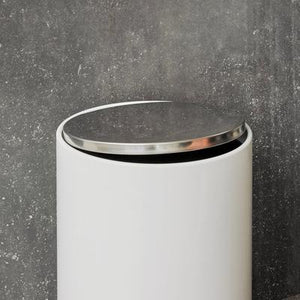 Load image into Gallery viewer, Bath Pedal Bin, 20 Litres, White