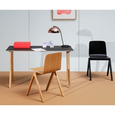 Cph90 Desk, Linoleum Black