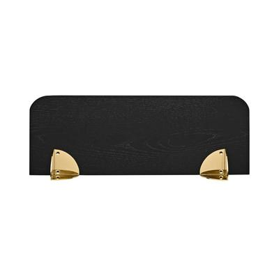 Aedes Shelf, Black - Gold, Small