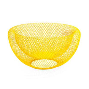 Wire Mesh Bowls, Yellow