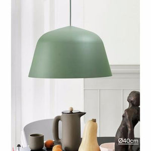Ambit Pendant Lamp, Dusty Green