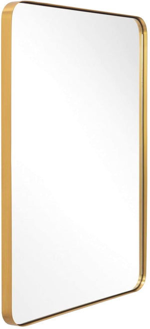 Gold Frame Mirror 22 x 30""