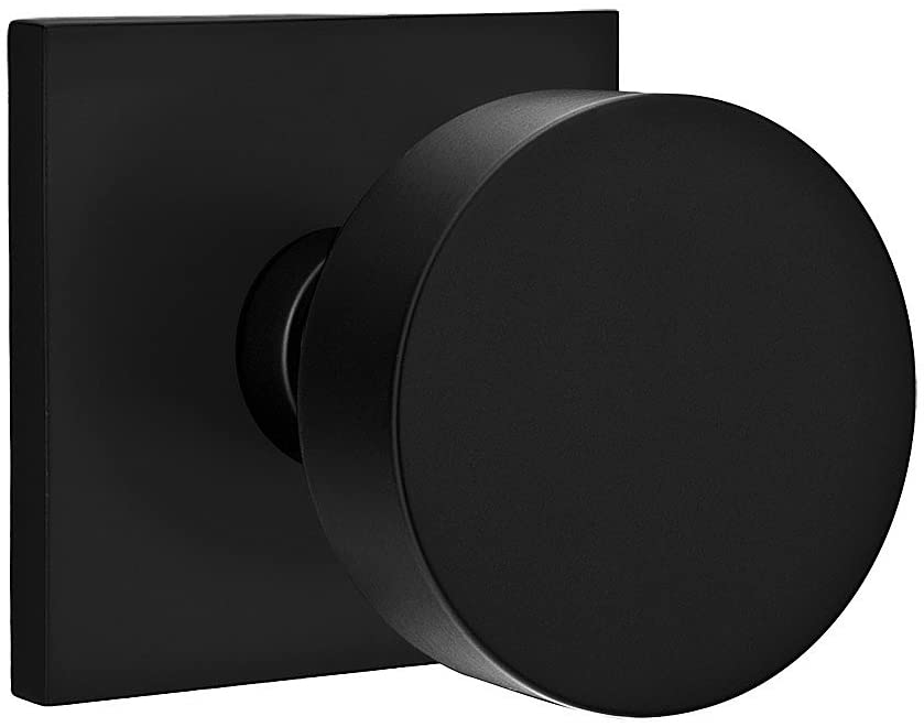 Square Rosette Door Set (Matte Black)