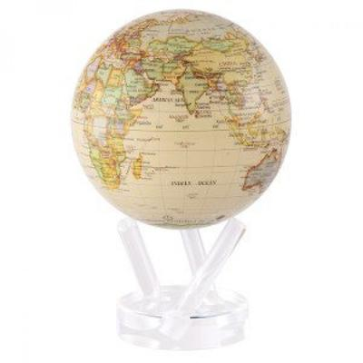 Load image into Gallery viewer, Antique Beige Rotation Globe