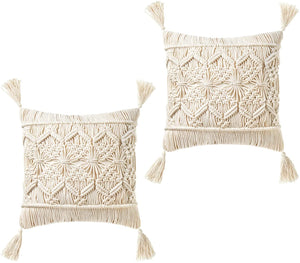 Tassel Macrame Cushion Case