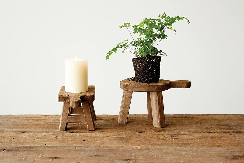 Rectangle Wood Pedestal