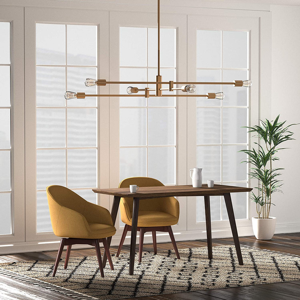 Load image into Gallery viewer, Metal Rod Pendant Light
