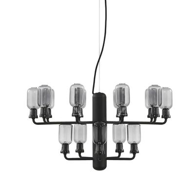 Amp Chandelier Small Smoke Black