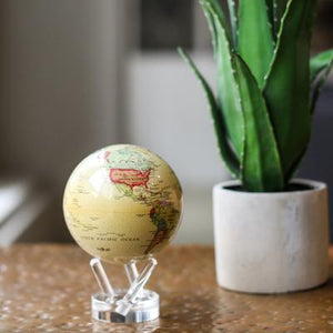 Antique Beige Rotation Globe
