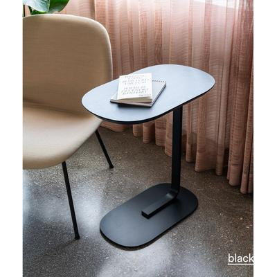 Relate Side Table, Linoleum Top