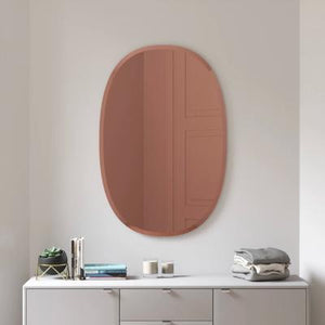 Bevy Wall Mirror, Oval