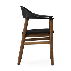 Load image into Gallery viewer, Herit Armchair, Smoked Oak, Fabric