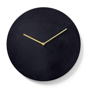 Load image into Gallery viewer, Norm Steel Wall Clock, Bronzed Brass
