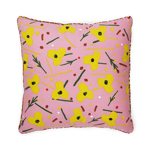 Load image into Gallery viewer, Posh Cushion La Grande Fleur