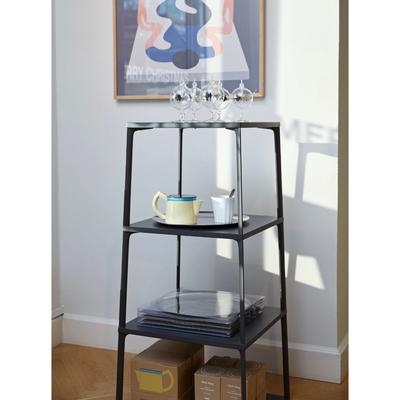 Load image into Gallery viewer, Eiffel Shelf Square, 4 Layers, Black
