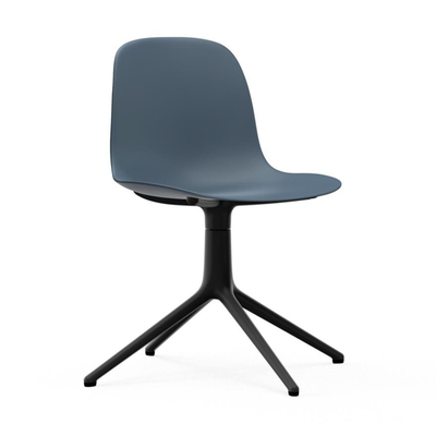 Load image into Gallery viewer, Form Chair, Swivel, Black