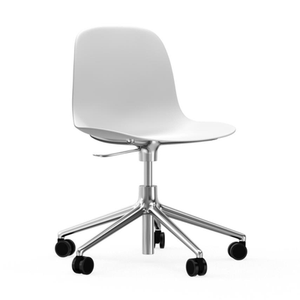 Load image into Gallery viewer, Form Chair, Swivel On Wheels, Aluminium