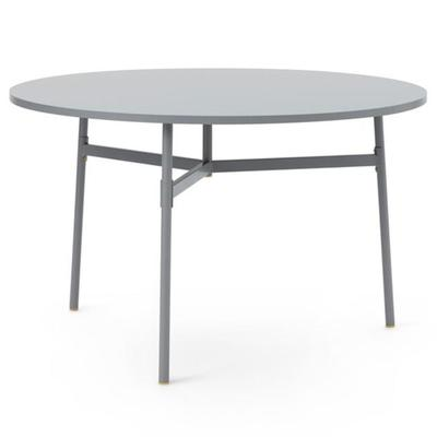 Union Table, Round, Grey