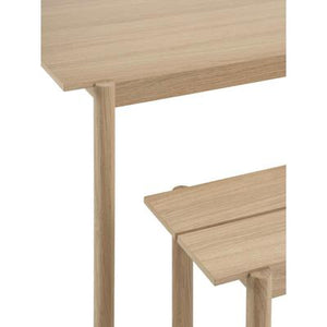 Load image into Gallery viewer, Linear Wood Table, Oak