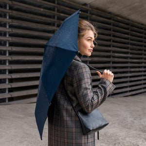 Automatic Foldable Umbrella, Midnight Blue