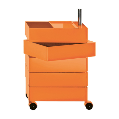 Container By Konstantin Grcic 5 Drawers Orange