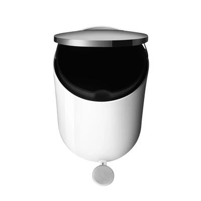 Load image into Gallery viewer, Bath Pedal Bin, 7 Litres, White