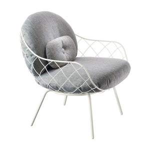 Pina Lounge Chair White