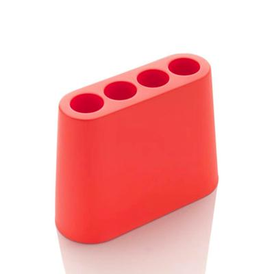 Aki Umbrella Stand, Coral Red