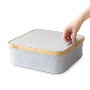 Storage Box With Lid, 9 Section