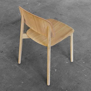 Soft Edge 12 Chair, Matt Lacquered Oak